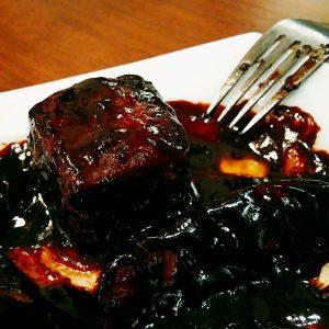 酢豚の肉がデカい