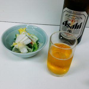 北海ラーメン駅前店の瓶ビール