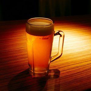 ビッグエコーの生ビール