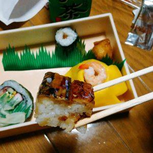 アナゴの押し寿司
