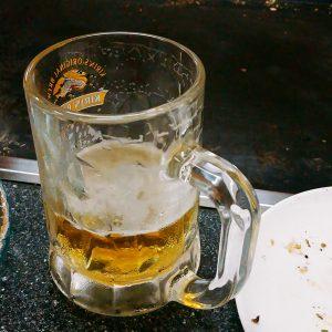 ばんばんの生ビール