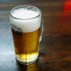 鴻運の生ビール
