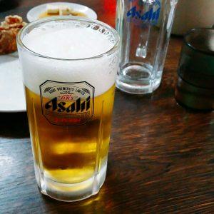 ビールのおかわり