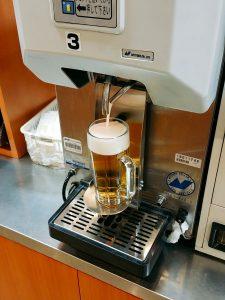 半田屋biviの生ビール