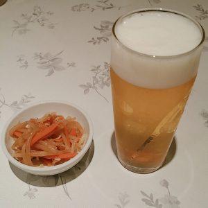 正華の生ビール