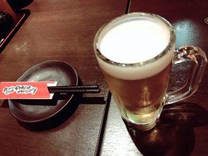 MOJAの生ビール