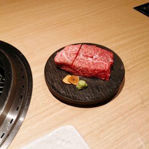 大同苑のステーキ
