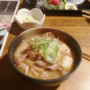 サラリーマン居酒屋桜坂のモツ煮込み