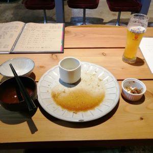 tawaraのランチを完食