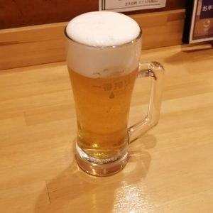 磯乃の生ビール